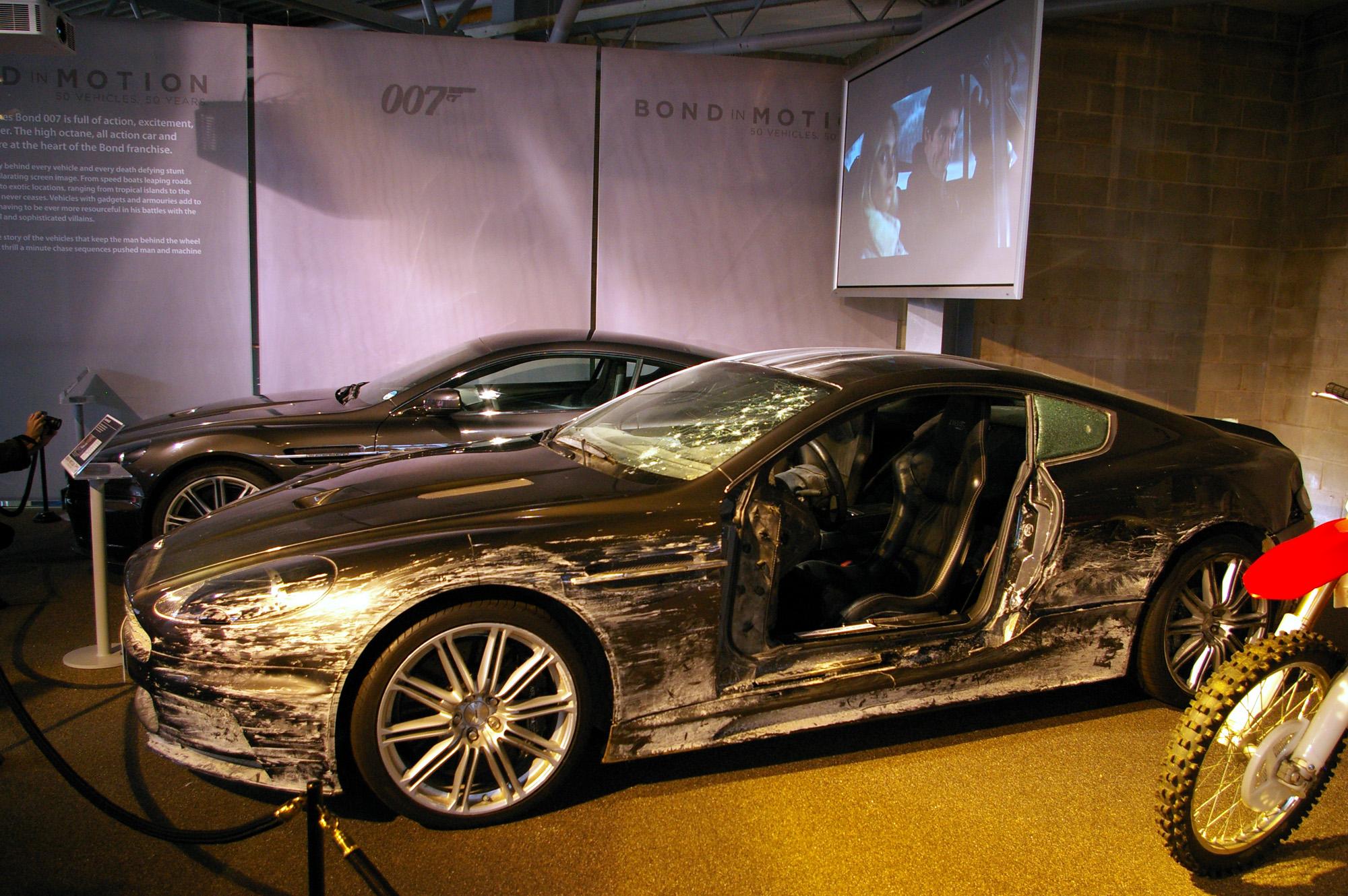 Aston Martin D85 used in Skyfall