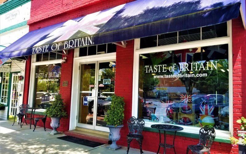 Exterior Taste of Britain in Norcross GA