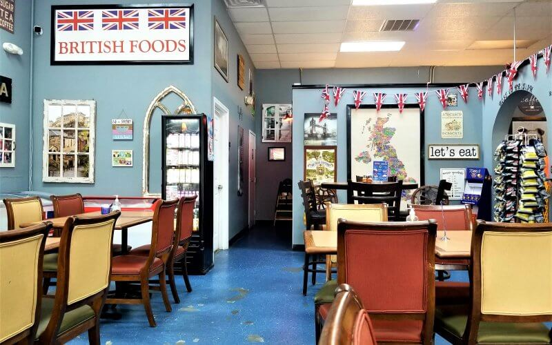 Inside Best of British Cafe and Pub